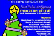 Stammersdorfer Christkindlmarkt 2012 beginnt 30.11.2012