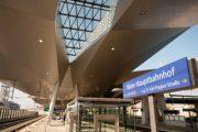 Teilinbetriebnahme des neuen Wiener Hauptbahnhofs am 09.12.2012