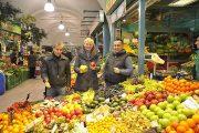 Märktestadträtin Sandra Frauenberger besucht den frisch renovierten Meiselmarkt (©Foto: Alexandra Kromus / PID)