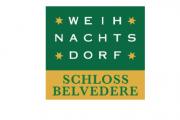 Weihnachtsdorf Schloss Belvedere