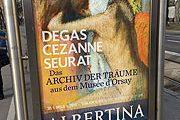 Degas, Cezanne, Surat Ausstellung ab 30.01.2015 in der Albertina