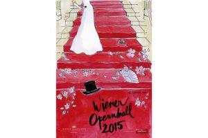 Opernball 2015 Plakat von Kera Till