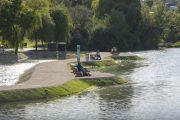 Neu im Wasserpark: Innovativer Bio-Bodenfilter und eine neue Promenade für das Naturjuwel Alte Donau