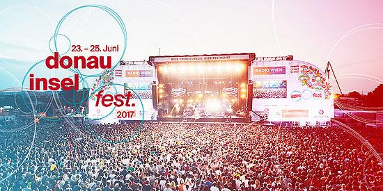 34. Donauinselfest 2017: Programm-Highlights 23. bis 25. Juni 2017