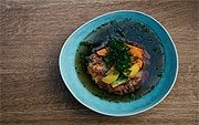 vegane und vegetanische Gerichte im Tian Bistro Spittelberg (©Foto: Tian)